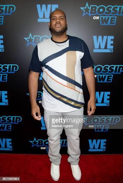Brandon Barnes attends 'Bossip On WE' Atlanta launch celebration at Elevate at W Atlanta Midtown on June 27 2017 in Atlanta Georgia
