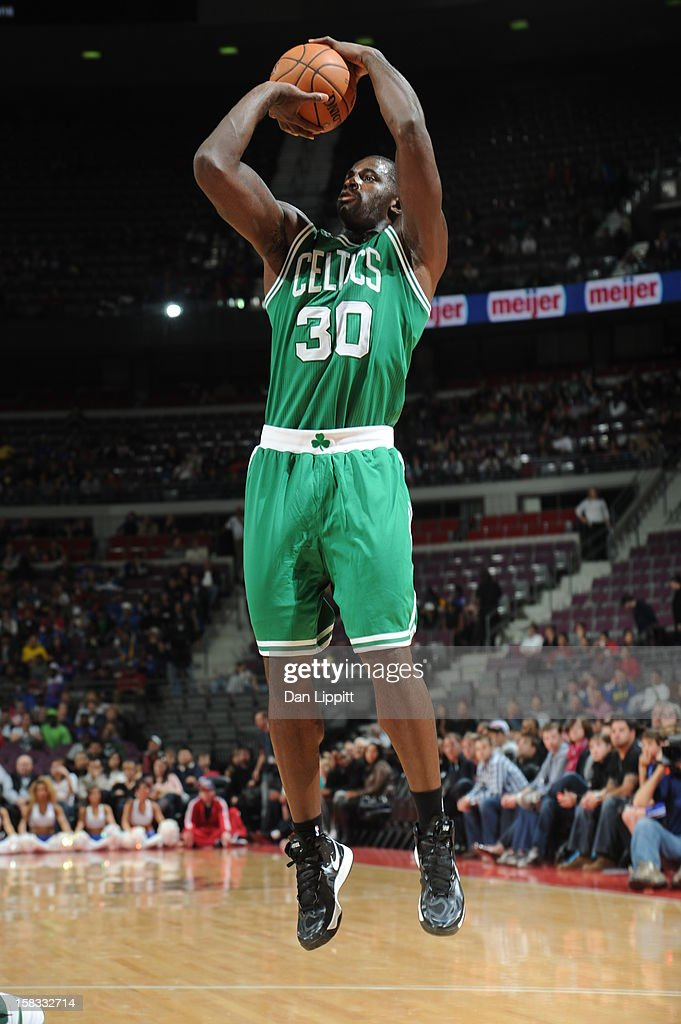 <a gi-track='captionPersonalityLinkClicked' href=/galleries/search?phrase=Brandon+Bass&family=editorial&specificpeople=233806 ng-click='$event.stopPropagation()'>Brandon Bass</a> #30 of the Boston Celtics takes a shot against the Detroit Pistons on November 18, 2012 at The Palace of Auburn Hills in Auburn Hills, Michigan.