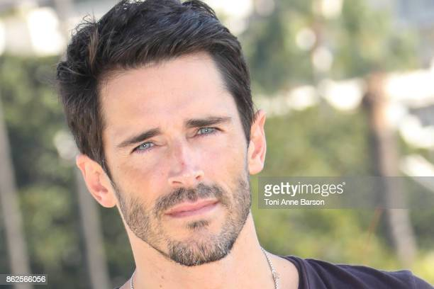 Brandon Beemer attends photocall for 'The Bay' as part of MIPCOM 2017 at the Palais des Festivals on October 17 2017 in Cannes France