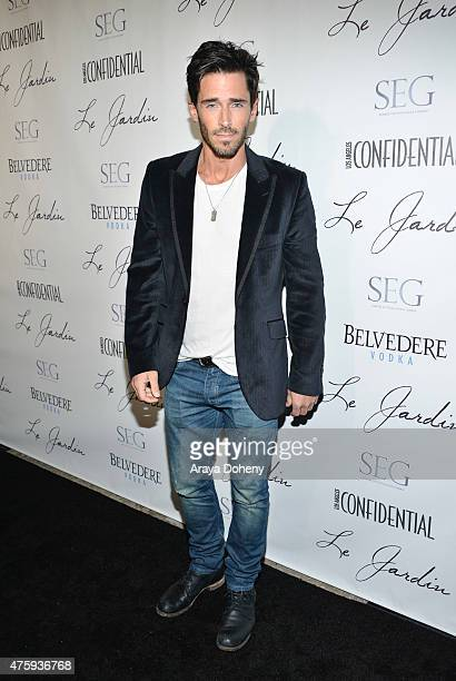 Brandon Beemer attends the Grand Opening Of Le Jardin on June 4 2015 in Hollywood California