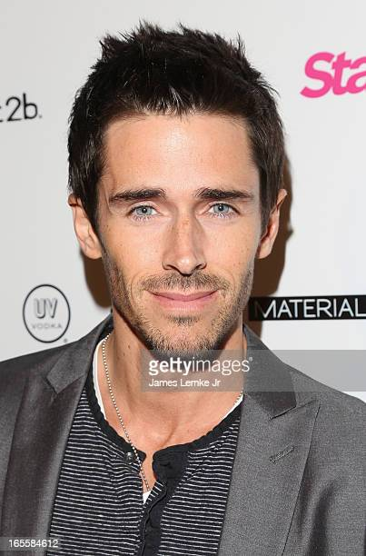 Brandon Beemer attends the Star Magazine's 'Hollywood Rocks' Party held at the Playhouse Hollywood on April 4 2013 in Los Angeles California