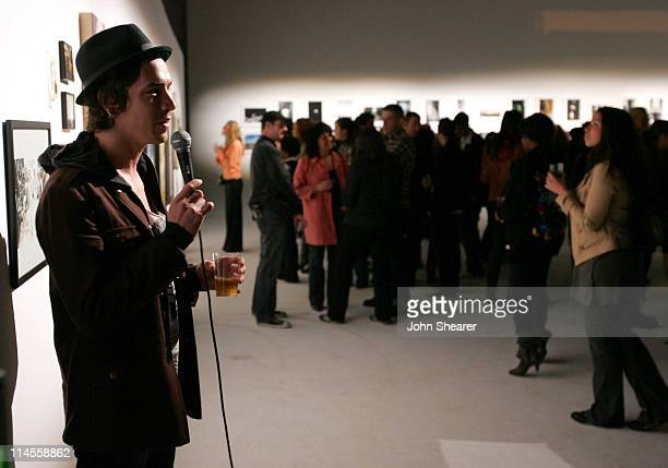 Brandon Boyd during Brian Bowen Smith Brent Bolthouse and Brandon Boyd Art and Photography Show at Quixote Studios at Quixote Studios in Los Angeles...