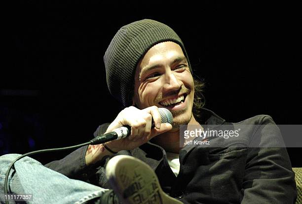 Brandon Boyd during Incubus Fan Conference February 26 2004 at Sony Pictures Studio in Culver City California United States