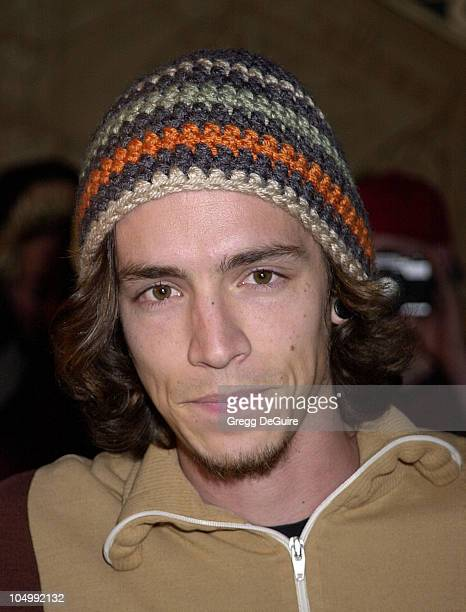 Brandon Boyd of Incubus during 2001 Fox Billboard Bash at Studio 54 in Las Vegas Nevada United States