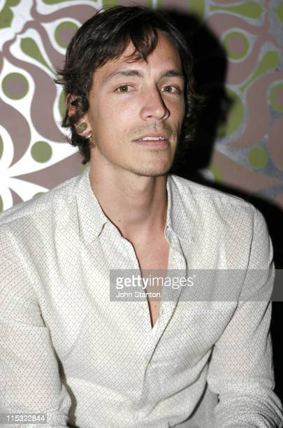 Brandon Boyd of Incubus during Incubus Album' Light Grenades Listening Party October 25 2006 at Kings Cross in Sydney NSW Australia