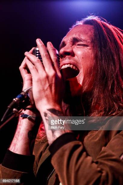 Brandon Boyd of Incubus performs on stage at the Los Angeles Chapter GRAMMY Showcase at The Fonda Theatre on June 8 2017 in Los Angeles California