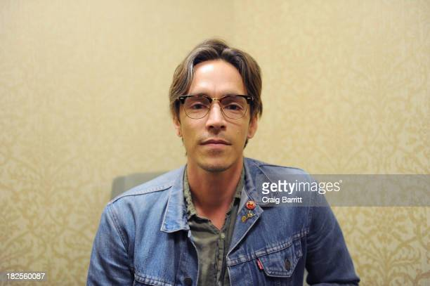 Brandon Boyd of Incubus promotes the new book 'So The Echo' at Barnes Noble Tribeca on September 30 2013 in New York City