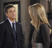 LIVE Brandon Buddy and Susan Haskell in a scene that airs the week of May 3 2010 on ABC Daytime's 'One Life to Live' 'One Life to Live' airs...