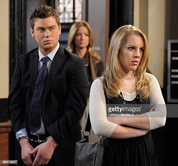 LIVE Brandon Buddy Susan Haskell and Kristen Alderson in a scene that airs the week of May 3 2010 on ABC Daytime's 'One Life to Live' 'One Life to...