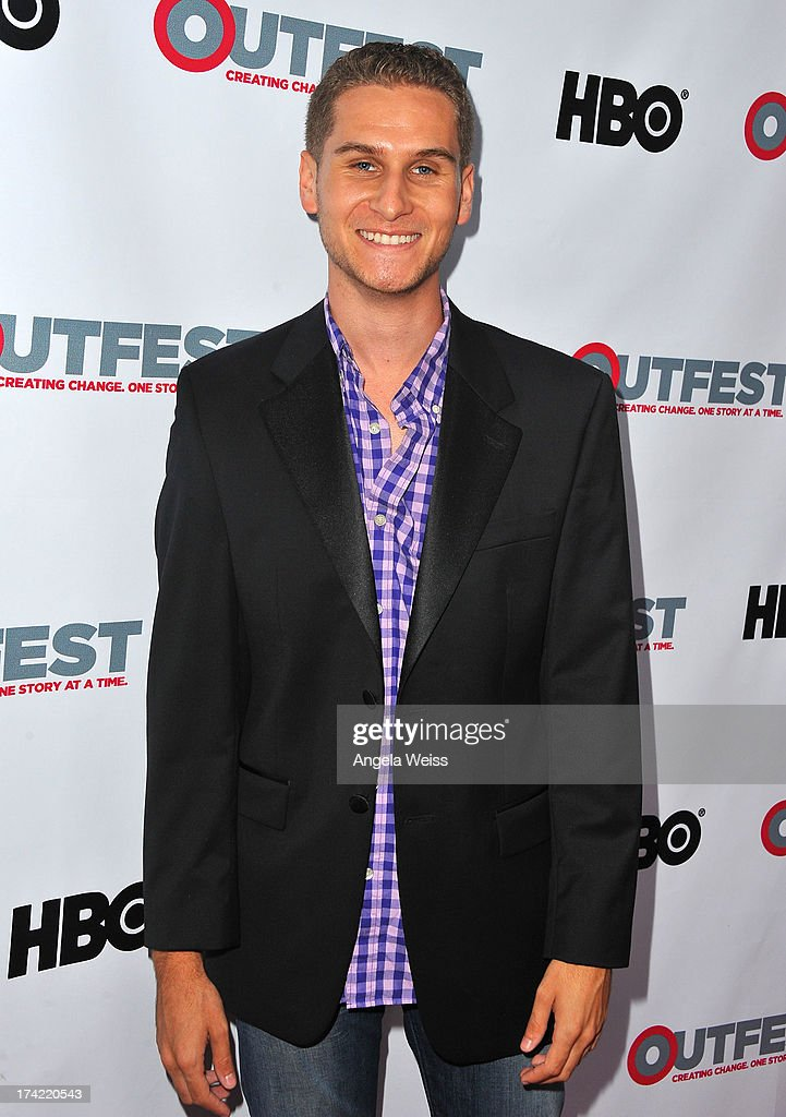 Brandon Cohen arrives at the 2013 Outfest Film Festival closing night gala of 'G.B.F.' at the Ford Theatre on July 21, 2013 in Hollywood, California.