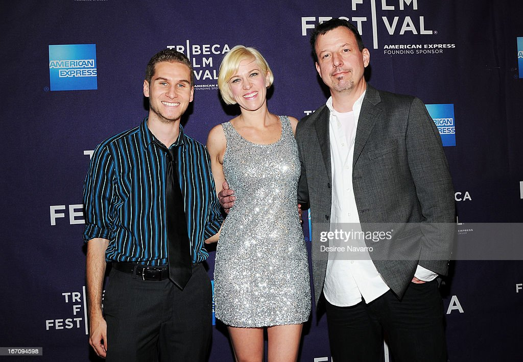 Brandon Cohen, producer Samantha Kern and Richard Bever attend the screening of 'G.B.F.' during the 2013 Tribeca Film Festival at Chelsea Clearview Cinemas on April 19, 2013 in New York City.