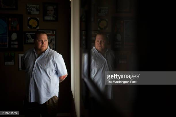 Brandon Coleman is photographed at his home on February 20 2015 in Peoria Arizona Coleman a Marine veteran and father of two Marines was put on...