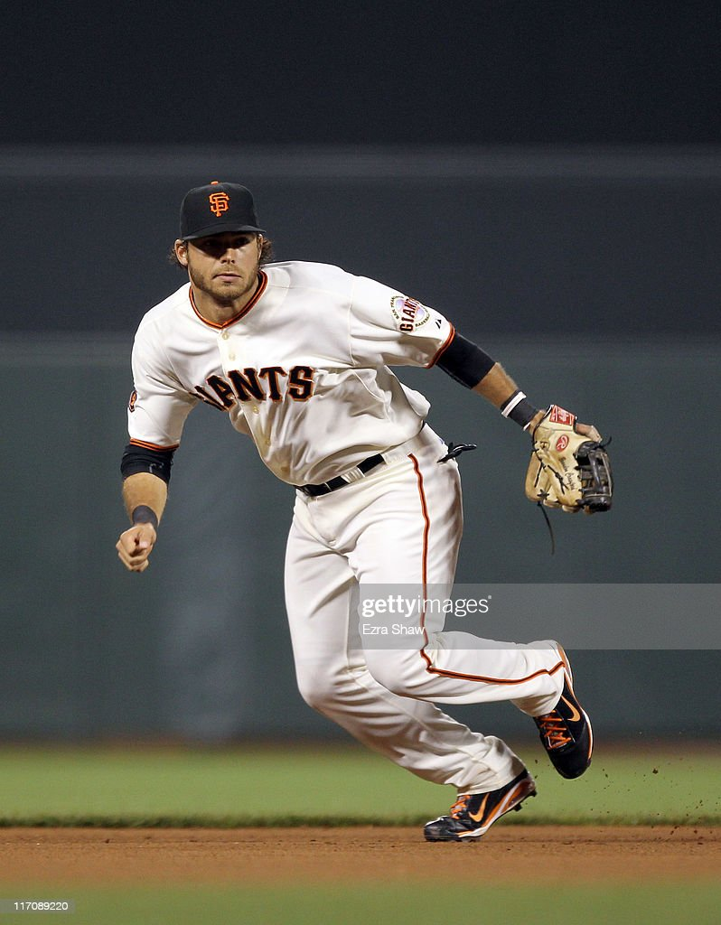 <a gi-track='captionPersonalityLinkClicked' href=/galleries/search?phrase=Brandon+Crawford&family=editorial&specificpeople=5580312 ng-click='$event.stopPropagation()'>Brandon Crawford</a> #35 of the San Francisco Giants in action against the Cincinnati Reds at AT&T Park on June 9, 2011 in San Francisco, California.