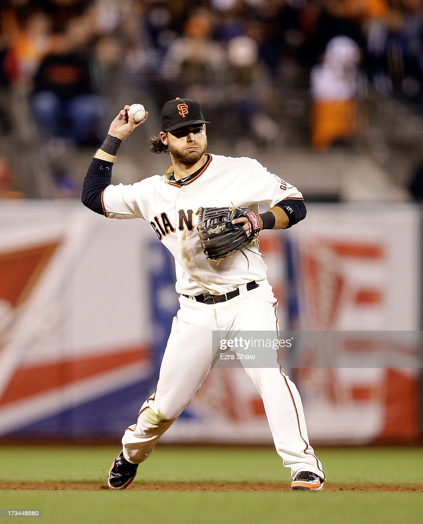 <a gi-track='captionPersonalityLinkClicked' href=/galleries/search?phrase=Brandon+Crawford&family=editorial&specificpeople=5580312 ng-click='$event.stopPropagation()'>Brandon Crawford</a> #35 of the San Francisco Giants in action against the New York Mets at AT&T Park on July 8, 2013 in San Francisco, California.