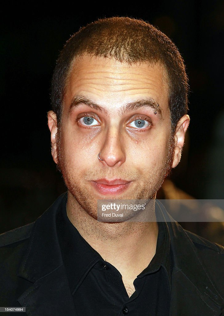 Brandon Cronenberg attends the premiere of 'Antiviral' at the 56th London Film Festival at Odeon Leicester Square on October 13, 2012 in London, England.