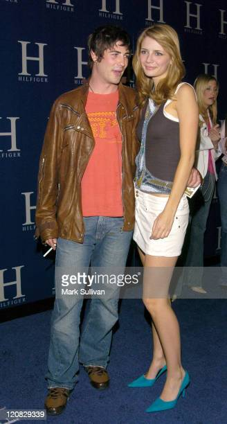 Brandon Davis and Mischa Barton at the H Hilfiger After Party