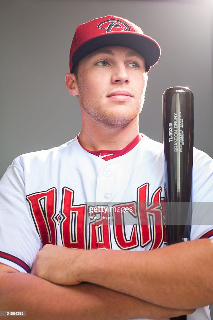 Brandon Drury #62 of the Arizona Diamondbacks poses during photo day at Salt River Fields at Talking Stick on March 1, 2015 in Scottsdale, Arizona.