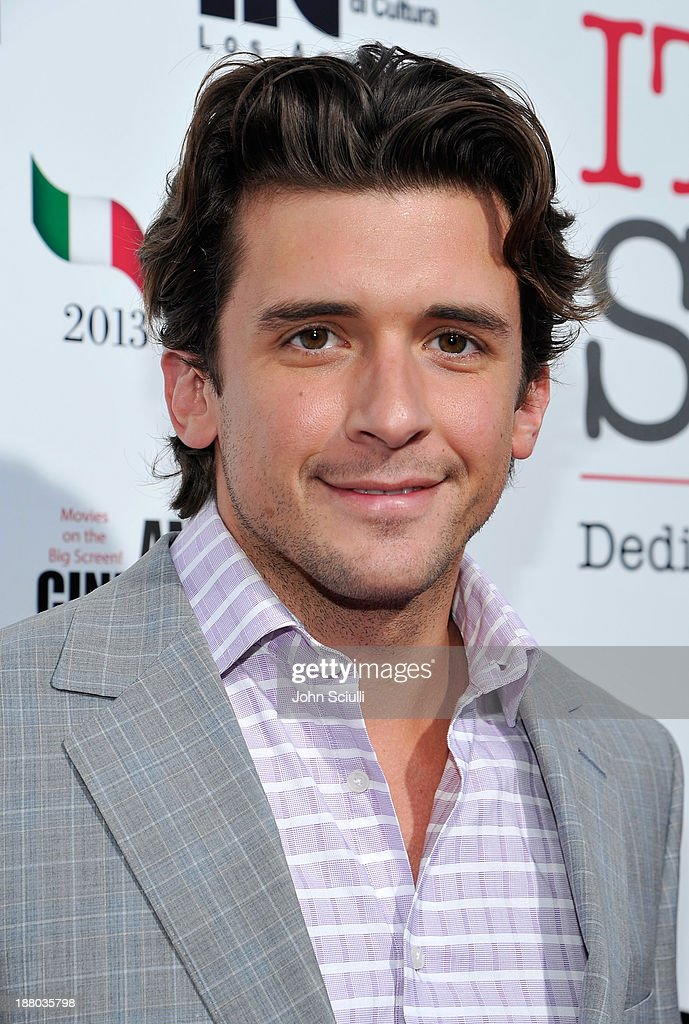 Brandon Durcher attends Cinema Italian Style 2013 'The Great Beauty' opening night premiere at the Egyptian Theatre on November 14, 2013 in Hollywood, California.
