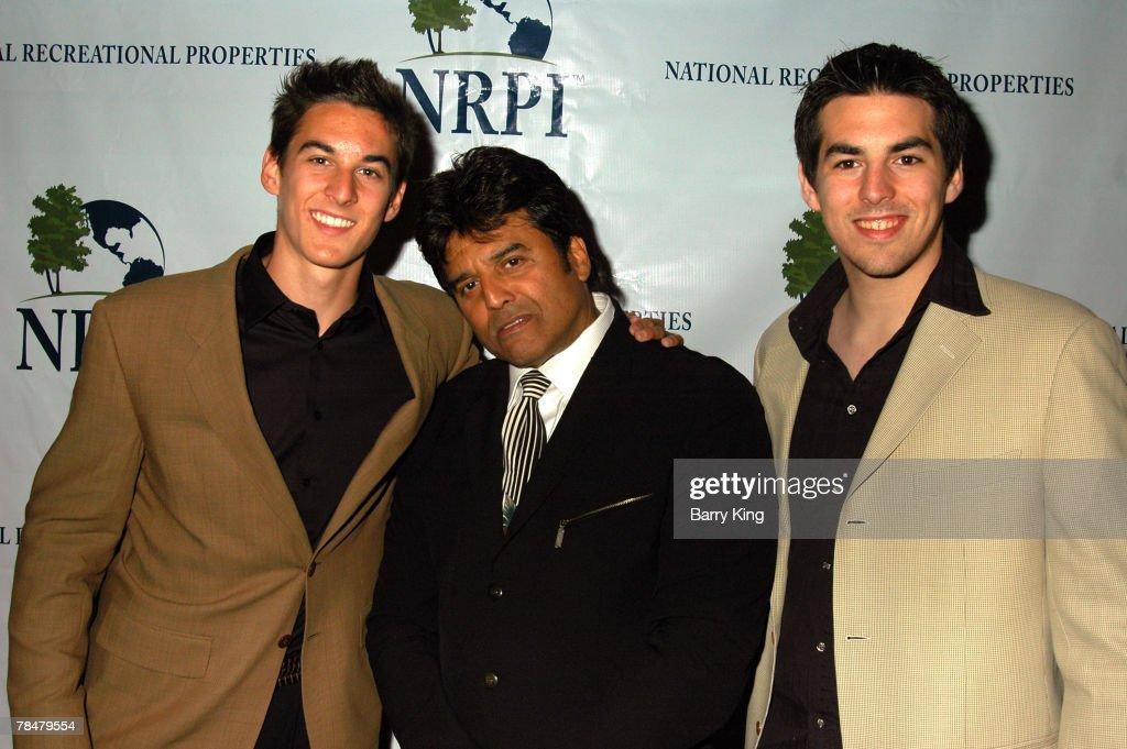 Brandon Estrada, Erik Estrada and Anthony Estrada