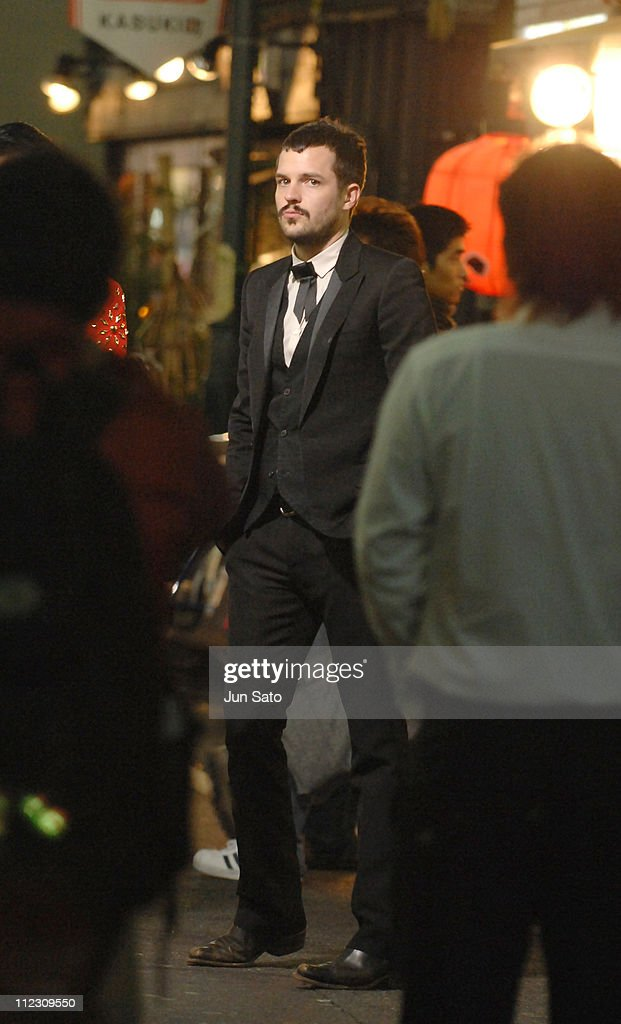 Brandon Flowers of The Killers during The Killers 'Read My Mind' Video Shoot - January 10, 2007 in Tokyo, Japan.