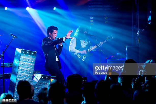 Brandon Flowers of The Killers performs at Belly Up on September 2 2016 in Aspen Colorado