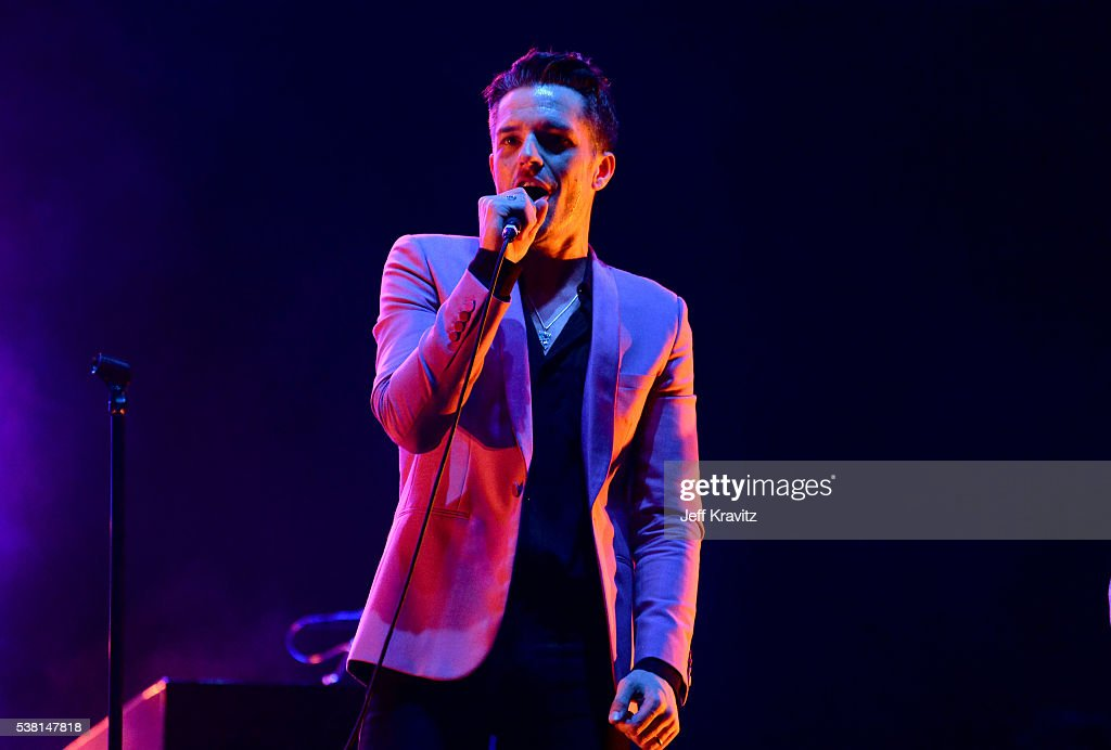 Brandon Flowers of The Killers performs onstage during 2016 Governors Ball Music Festival at Randall's Island on June 4, 2016 in New York City.