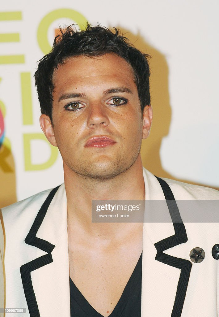Brandon Flowers of the Killers, winner Best New Artist