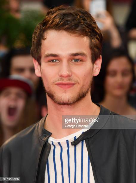 Brandon Flynn arrives at the 2017 iHeartRADIO MuchMusic Video Awards at MuchMusic HQ on June 18 2017 in Toronto Canada