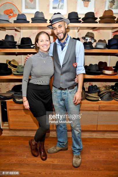 Brandon Franklin and Jamie attend BELLE PLAGE CLOTHING Holiday Party Spring 2011 Preview at Worth Worth on November 30 2010 in New York City
