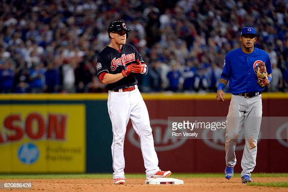 Image result for 2016 world series game 7 brandon guyer double