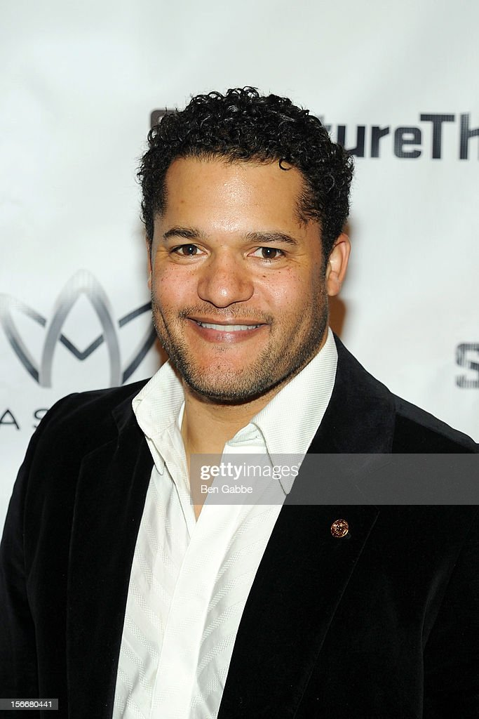 Brandon J. Dirden attends 'The Piano Lesson' Opening Night Party at Signature Theater Company's Peter Norton Space on November 18, 2012 in New York City.