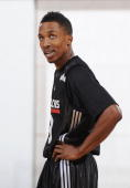 Brandon Jennings of the Milwaukee Bucks stands on the court during NBA Summer League presented by EA Sports against the Chicago Bulls on July 15 2009...