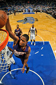 Brandon Knight of the Phoenix Suns goes for the dunk against the Orlando Magic during the game on March 4 2015 at Amway Center in Orlando Florida...
