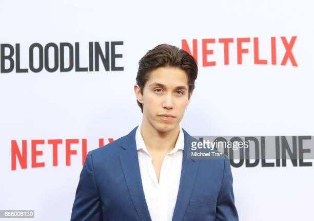 Brandon Larracuente arrives at the Los Angeles premiere of Netflix's 'Bloodline' Season 3 held at Arclight Cinemas on May 24 2017 in Culver City...