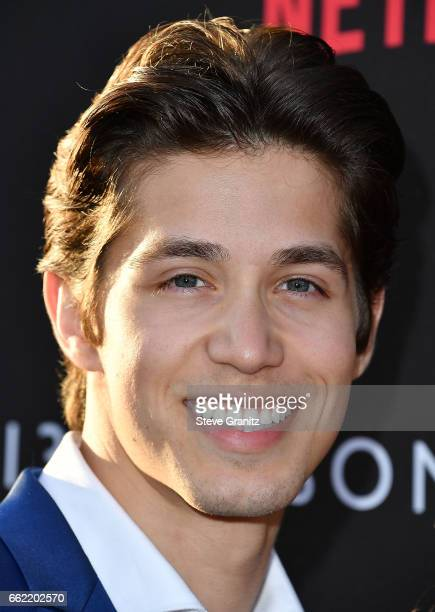 Brandon Larracuente arrives at the Premiere Of Netflix's '13 Reasons Why' at Paramount Pictures on March 30 2017 in Los Angeles California