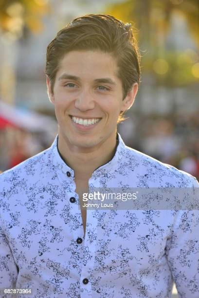 Brandon Larracuente attends Paramount Pictures' World Premiere of 'Baywatch' on May 13 2017 in Miami Beach Florida