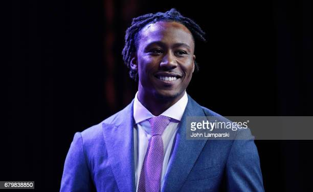 Brandon Marshall attends 60th Anniversary New York Emmy Awards Gala at Marriott Marquis Times Square on May 6 2017 in New York City