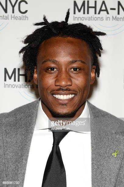 Brandon Marshall attends The Mental Health Association of New York City 25th Anniversary Gala at Gotham Hall on June 7 2017 in New York City