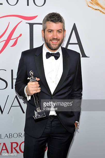 Brandon Maxwell attends the 2016 CFDA Fashion Awards at the Hammerstein Ballroom on June 6 2016 in New York City