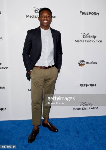 Brandon Micheal Hall attends the 2017 ABC/Disney Media Distribution International Upfronts at Walt Disney Studio Lot on May 21 2017 in Burbank...