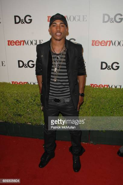 Brandon Mychal Smith attends the Seventh Annual Teen Vogue Young Hollywood Party at Milk Studios on September 25 2009 in Los Angeles California