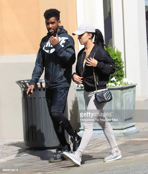 Brandon Mychal Smith is seen on April 9 2017 in Los Angeles CA