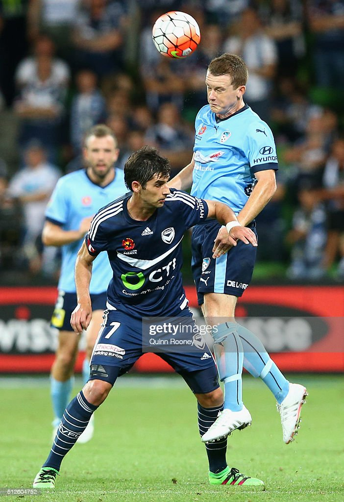 A-League Rd 21 - Melbourne v Sydney