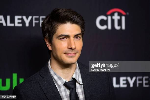 Brandon Routh attends PaleyFest LA at the Dolby Theatre on March 18 2017 in the Hollywood section of Los Angeles California / AFP PHOTO / DAVID MCNEW
