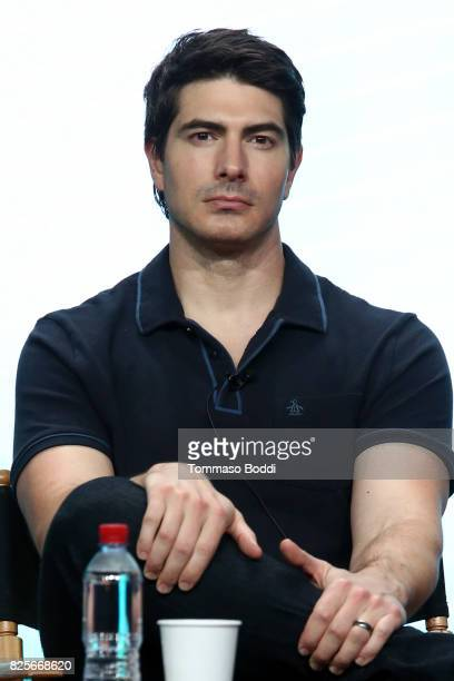 Brandon Routh attends the 2017 Summer TCA Tour CW Panels at The Beverly Hilton Hotel on August 2 2017 in Beverly Hills California