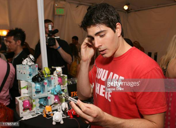Brandon Routh during My Scene Fab Faces Dolls Celebrity Retreat Produced by Backstage Creations at the 2006 Teen Choice Awards Day 2 at Gibson...