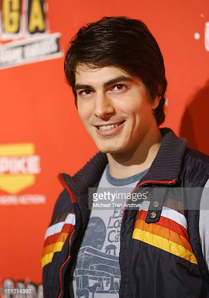 Brandon Routh during Spike TV's 2006 Video Game Awards Arrivals at The Galen Center in Los Angeles California United States