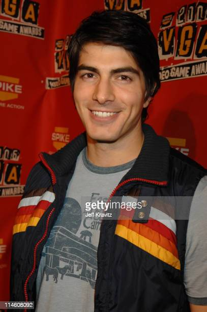 Brandon Routh during Spike TV's 2006 Video Game Awards Hosted By Samuel L Jackson Red Carpet at The Galen Center in Los Angeles California United...