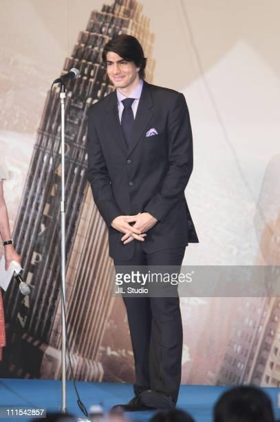 Brandon Routh during 'Superman Returns' Tokyo Premiere Stage Greeting at Roppongi Hills Arena in Tokyo Japan