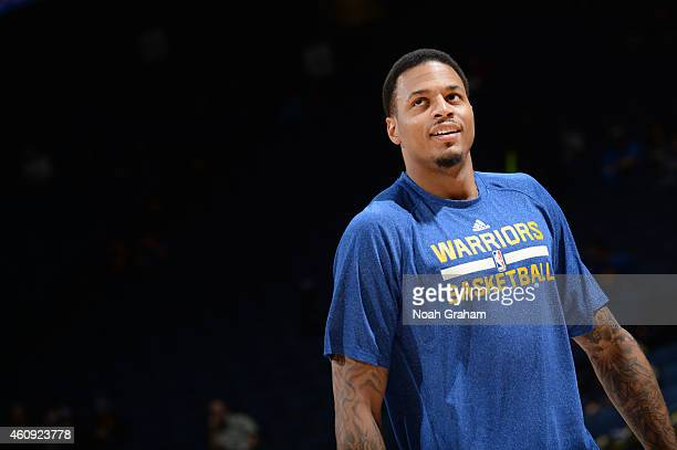 Brandon Rush of the Golden State Warriors before the game against the Philadelphia 76ers on December 30 2014 at Oracle Arena in Oakland California...